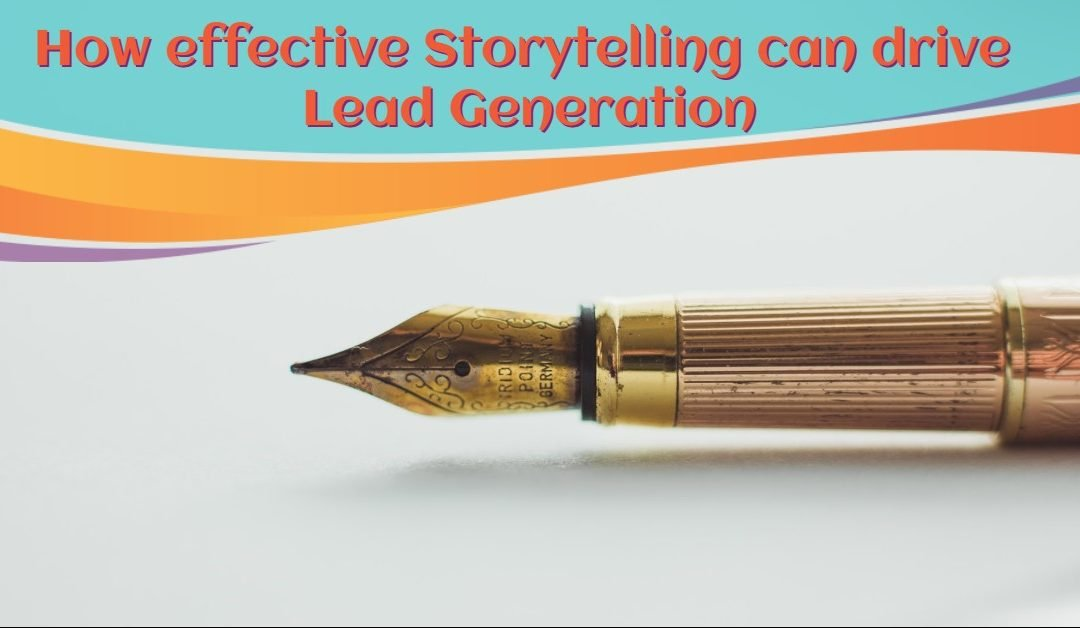 ThinkFlame Blog - Storytelling Can Drive Lead Generation